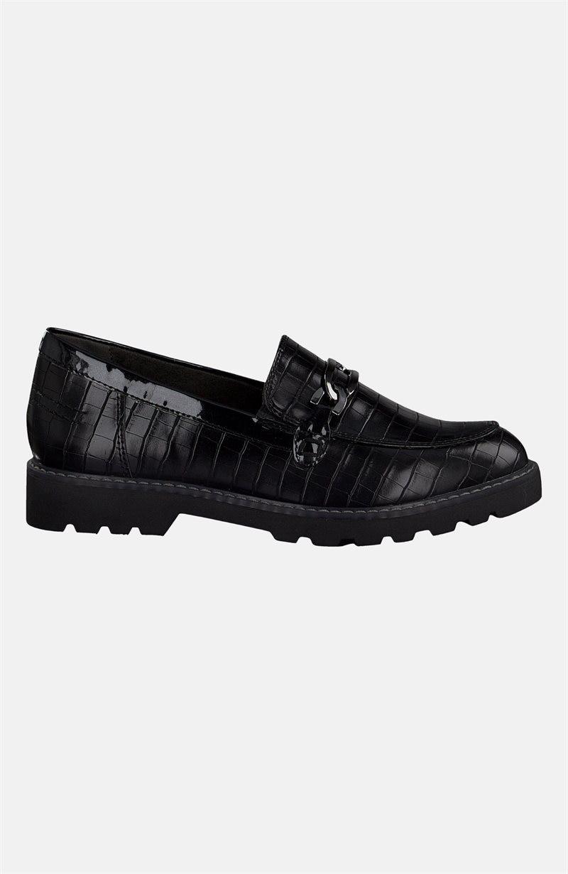 Kuvioidut loaferit