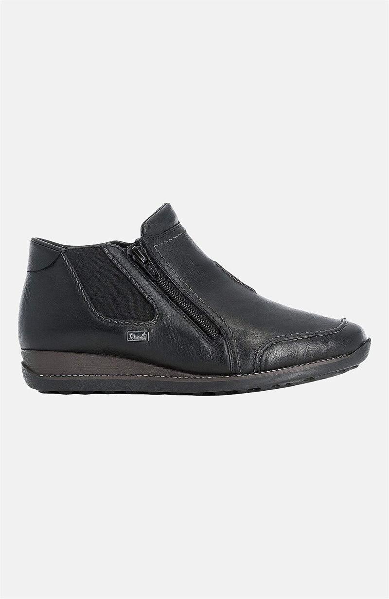 Lämpimästi vuoratut jokasään kengät nahkaa