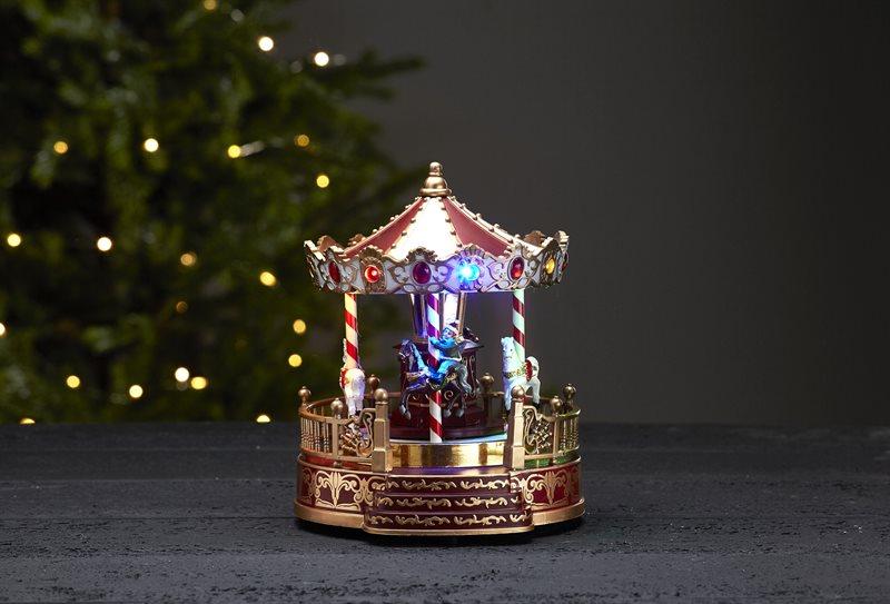 Joulukoriste karuselli Kidsville