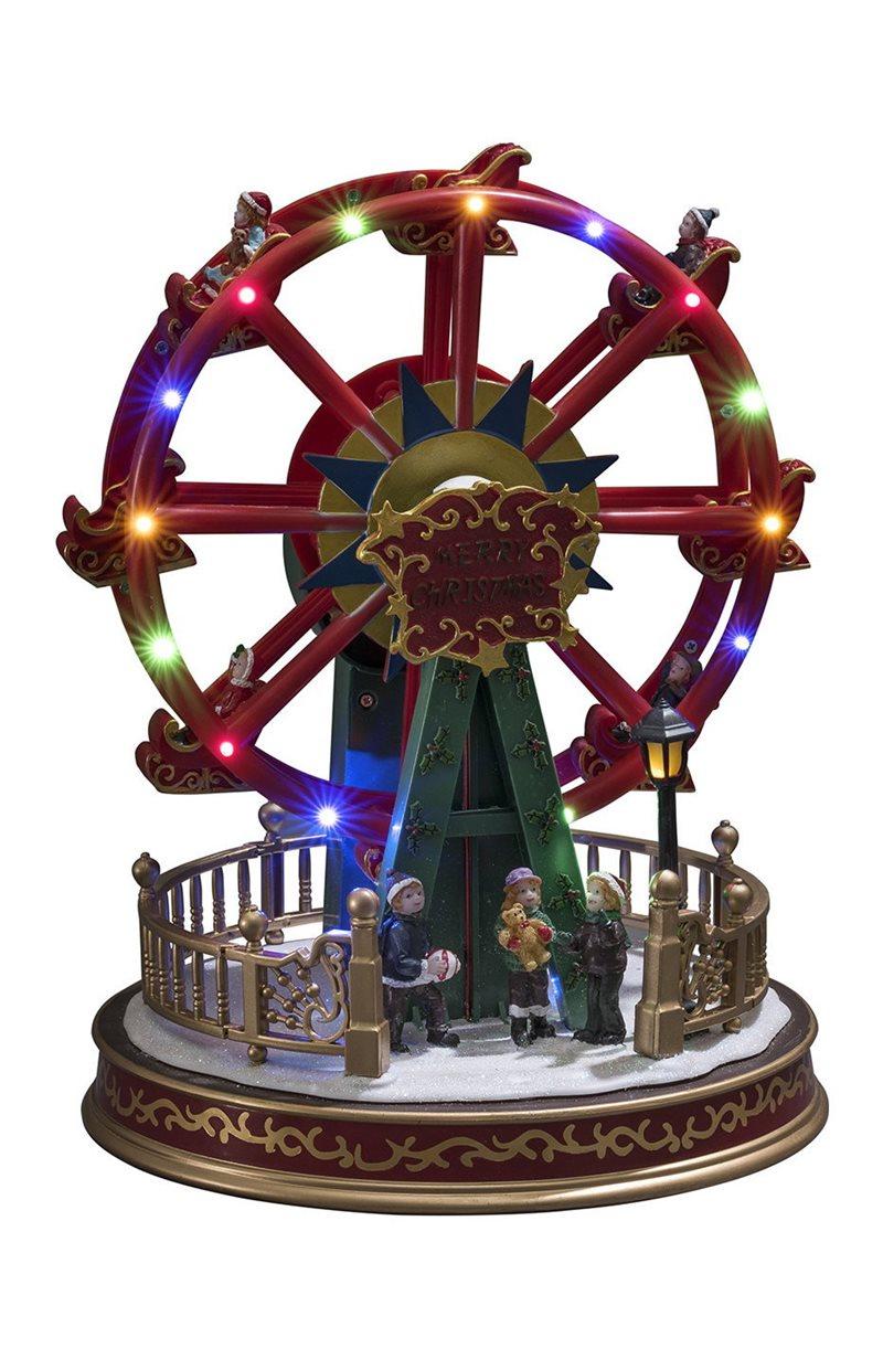 Joulukoriste maailmanpyörä Pariserhjul