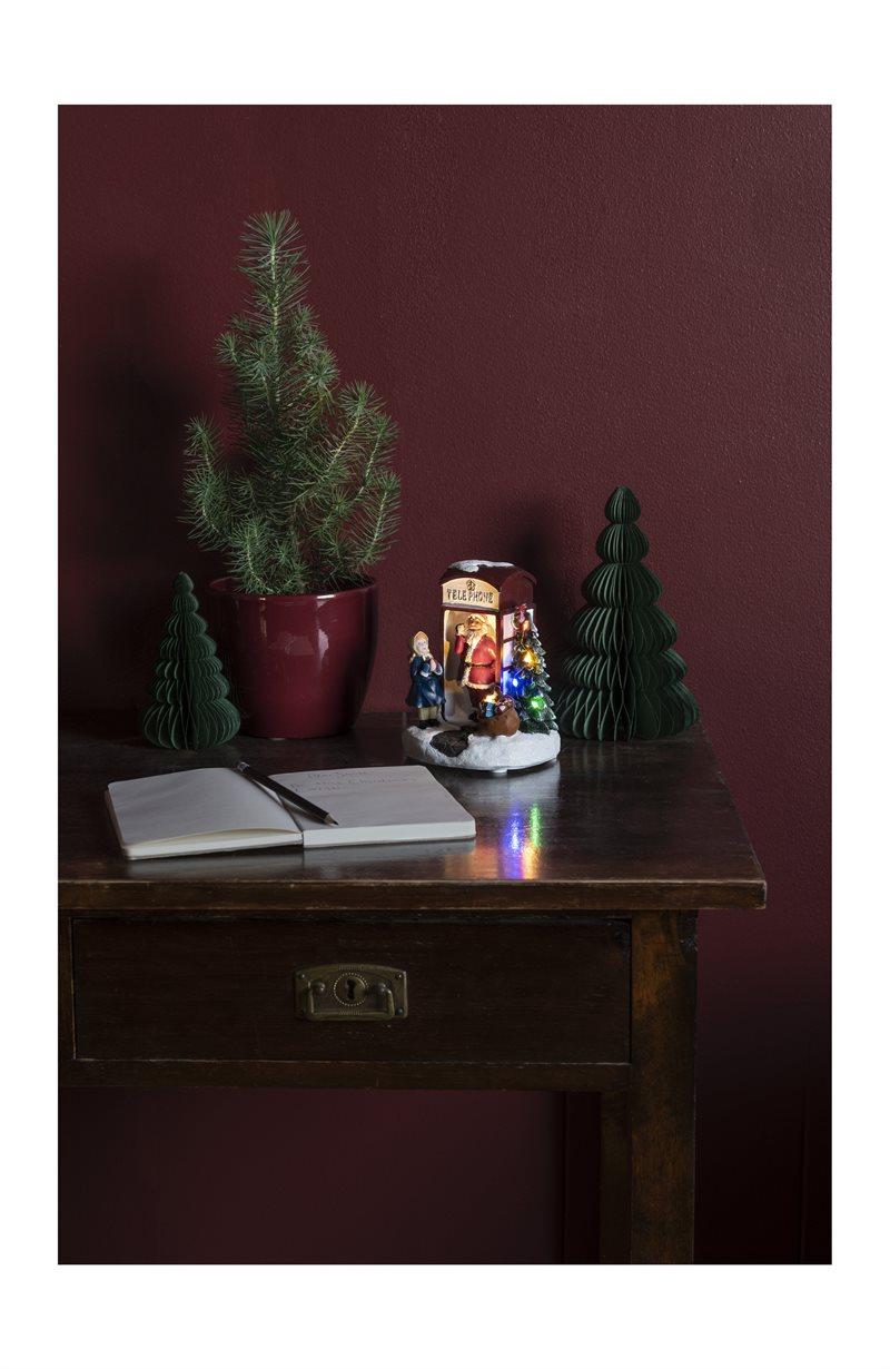 Joulukoriste puhelinkioski Telefonkiosk
