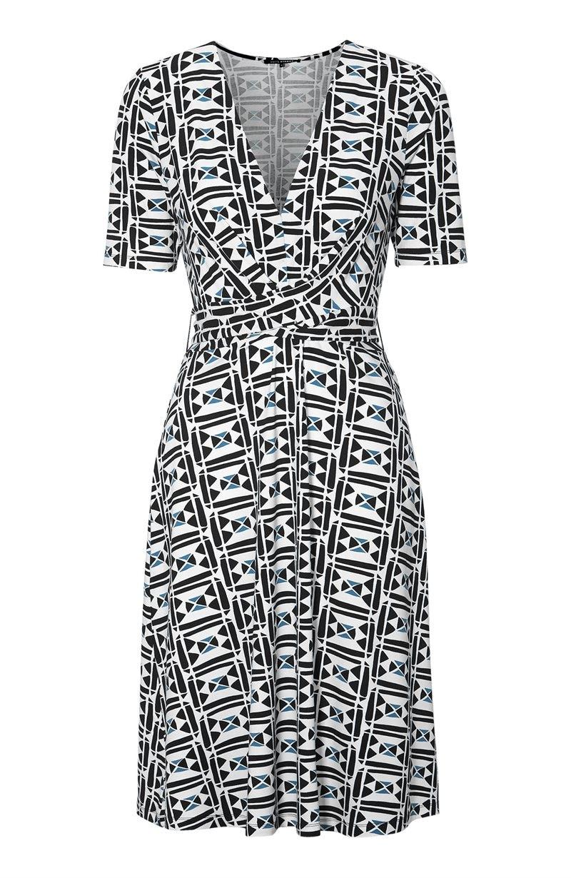 Kuviollinen mekko Nunzia