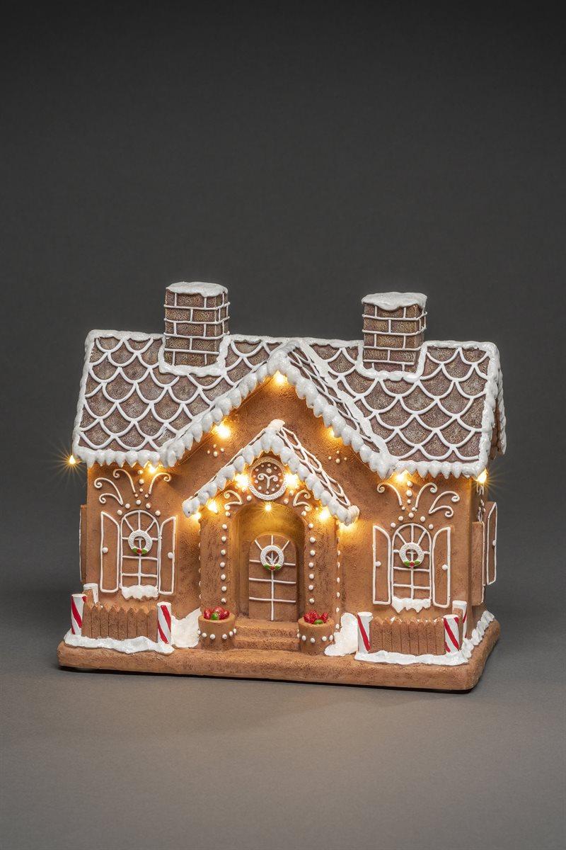 Joulukoriste piparkakkutalo