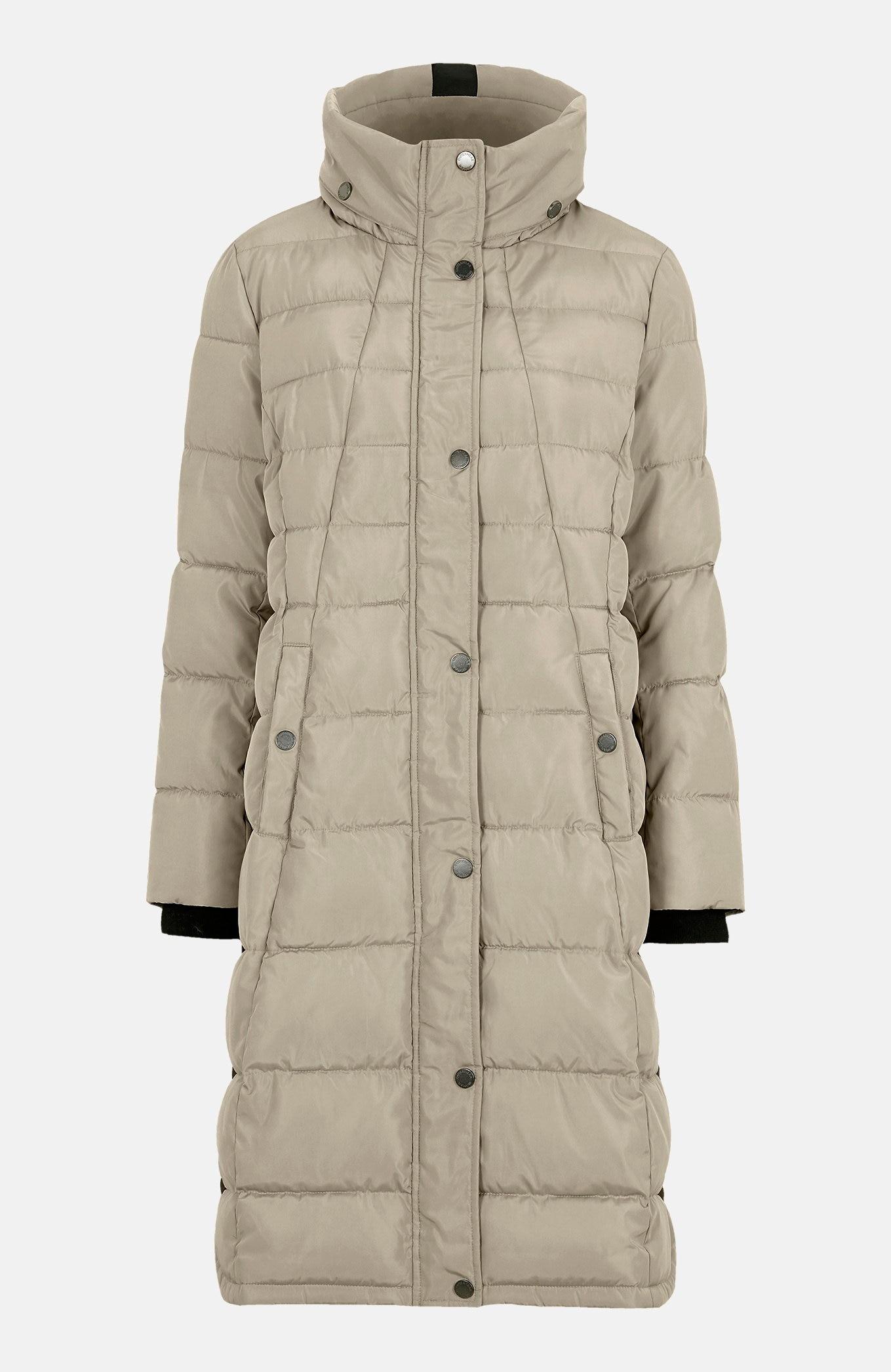 Lämminvuorinen takki